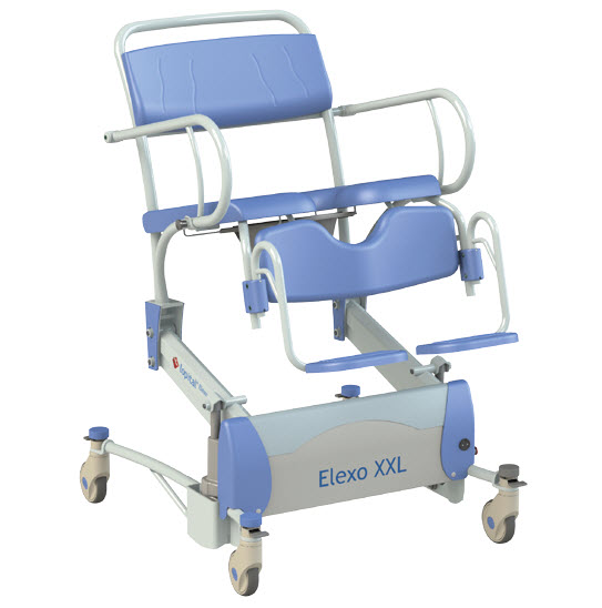 Elexo XXL Shower-Toilet Chair